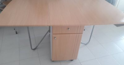 table pliable +6 chaises