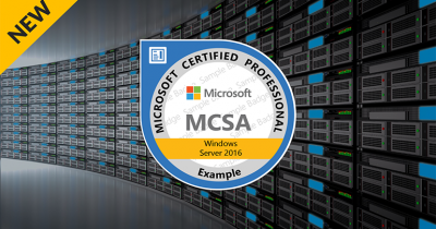 Devenir MCSA Windows Server 2016 / GSM: 25 315 269